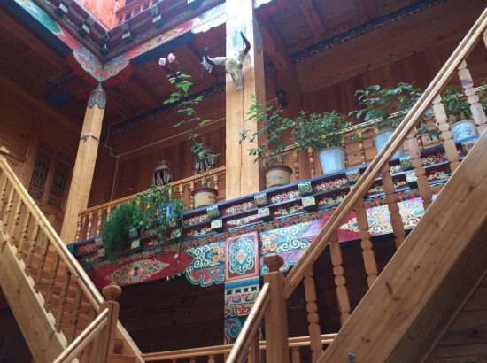 local Tibetian home