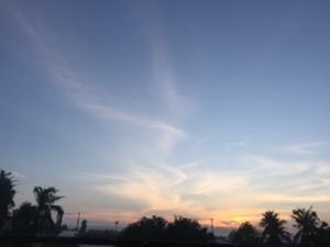 sunrise in Vietnam
