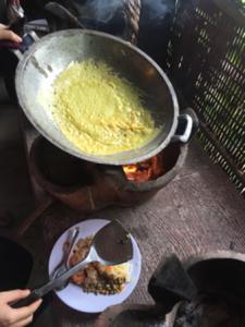 Vietnamese pancake batter