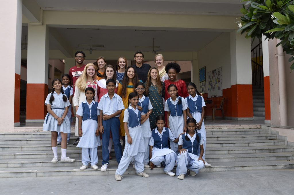 Judd Howard with Youth at VIDYA School