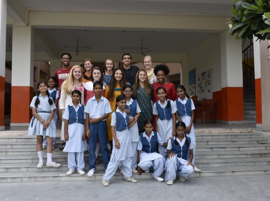 Judd Howard with Youth at VIDYA School