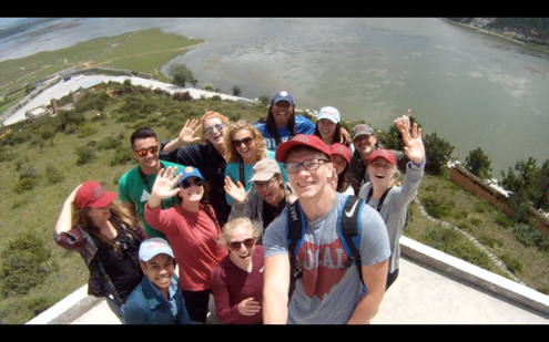 ACE in China 2017 Group at an Overlook