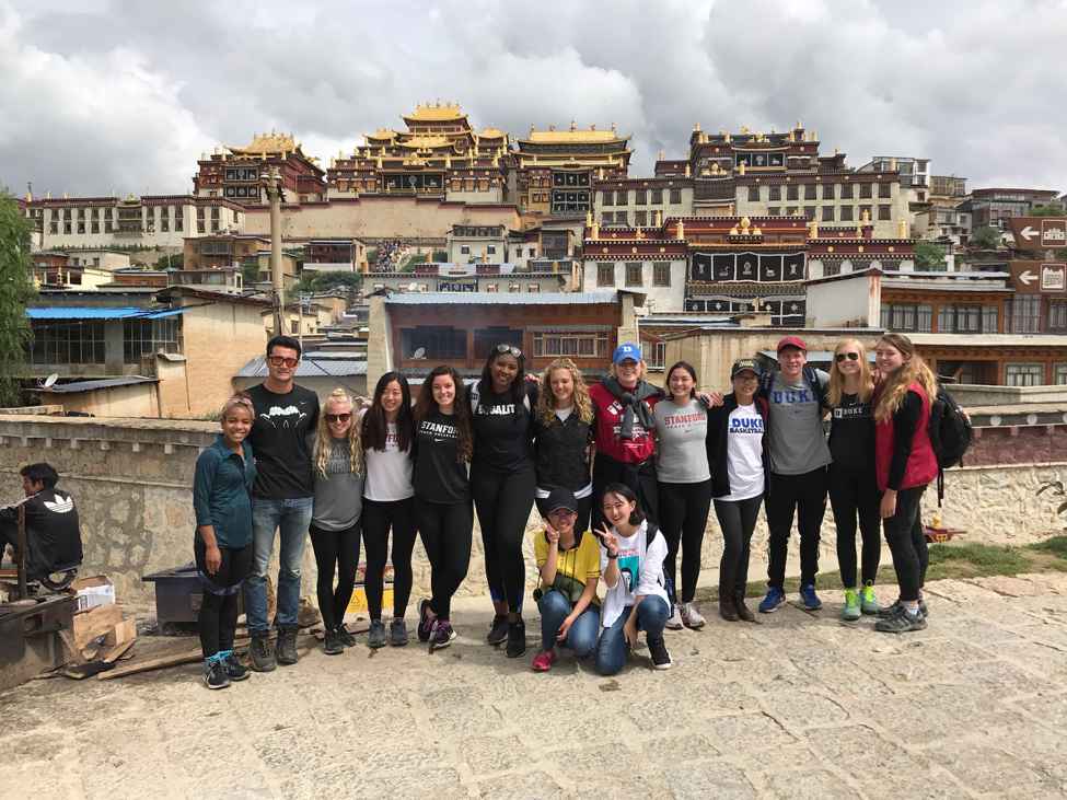 ACE in China 2017 Group Outside in Shangri-La