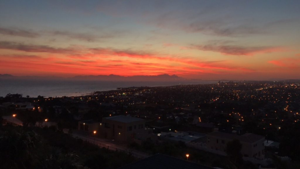 Sunset Over Gordon's Bay