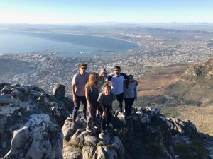 ACE in South Africa Group on Top of Table Mountain