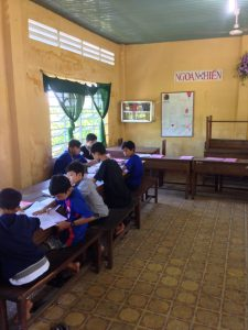 Kids Working in the Classroom