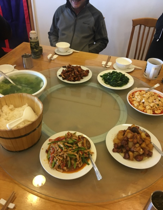 ACE Student-Athletes Try Shangri-La Food