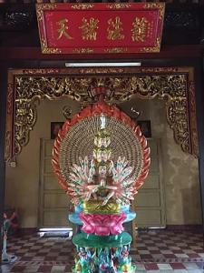 Icon in Tam Bao Pagoda