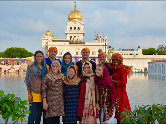 ACE in India Group at the Taj Mahal