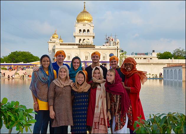 ACE in India Group at the Taj Mahal