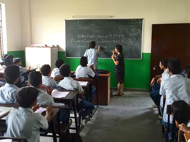 VIDYA Students Learning in Classroom