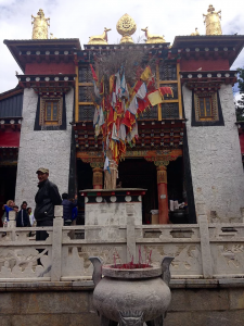 Ornate Tibetan Monastery