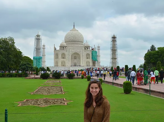 ACE Student-Athlete at the Taj Mahal