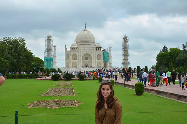 ACE Student-Athlete at the Taj Mahal