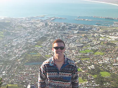 ACE Student-Athlete Aeriel View of South Africa