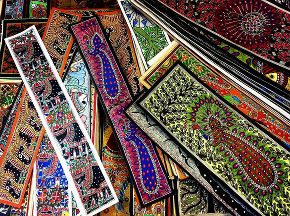 Colorful Indian Prayer Rugs