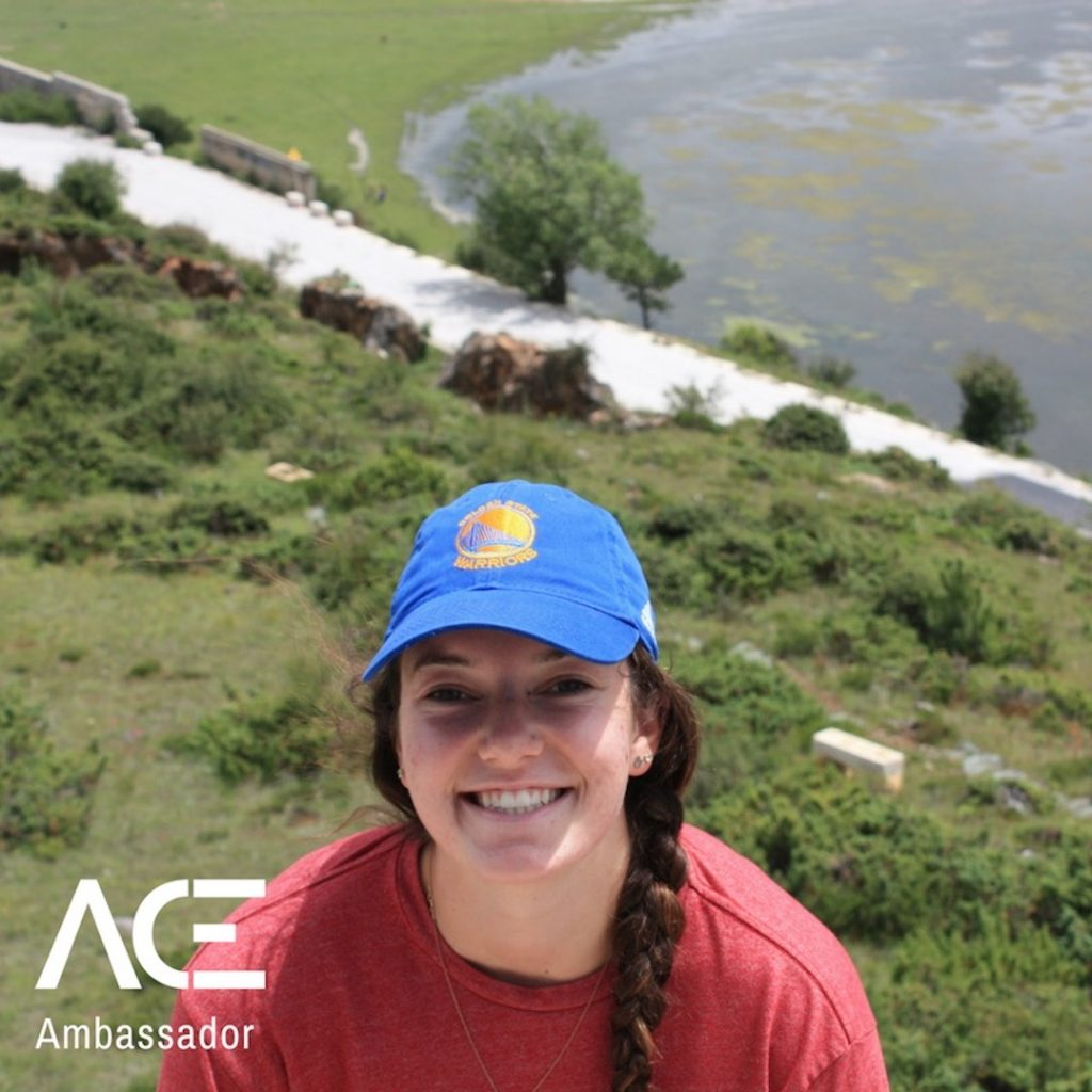 ACE participant mountain overlook