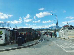 buildings and road in Nomzamo