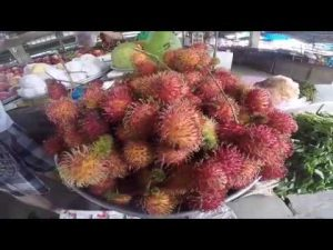 plate of lychee fruit