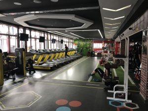 view inside gym