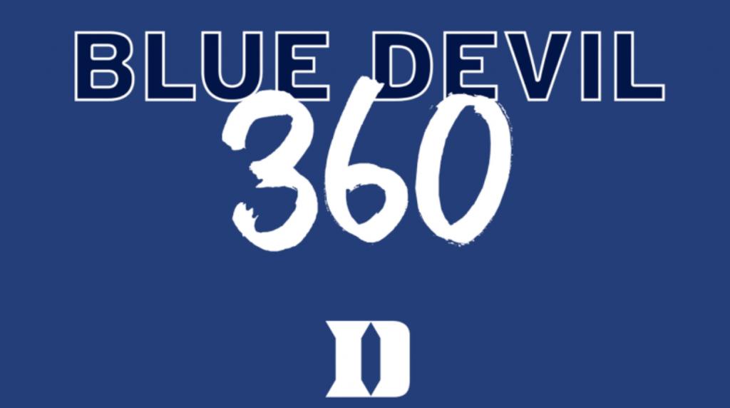 Blue Devil 360 podcast graphic