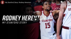 "Rodney Herenton ""My Stanford Story"" youtube video screenshot"