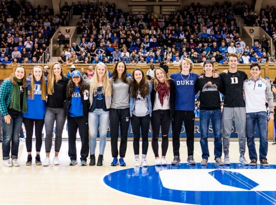 ace athletes being honored in Cameron Stadium
